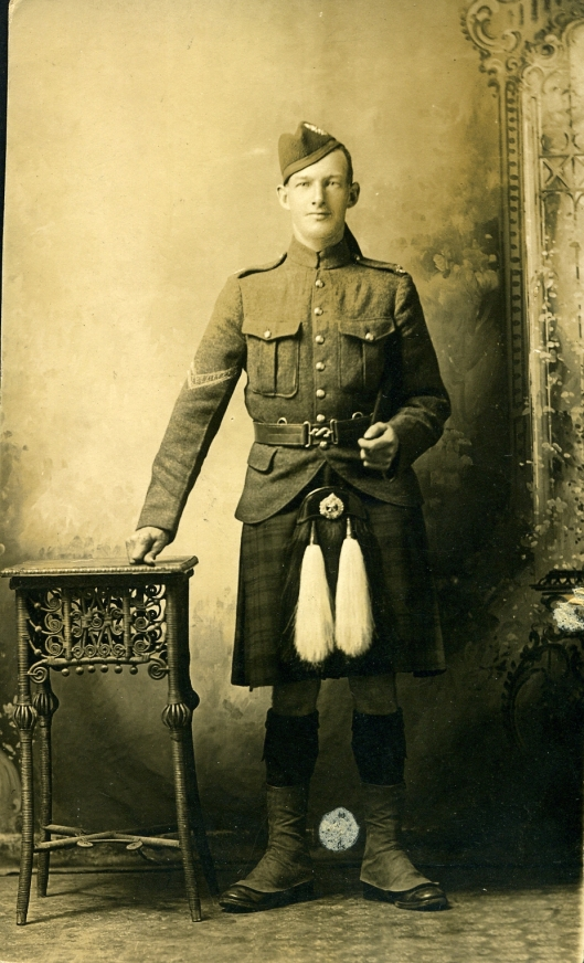 My great grandfather Fyfe - WWI